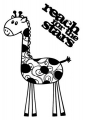 Clear Stamps giraffe