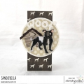 Bild 6 von Gummistempel Stamping Bella Cling Stamp STAFFIE AND ENGLISH BULL TERRIER RUBBER STAMPS